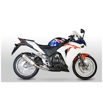 Scorpion Serket Parallel Slip-On Exhaust Honda CBR250R 2011-2013