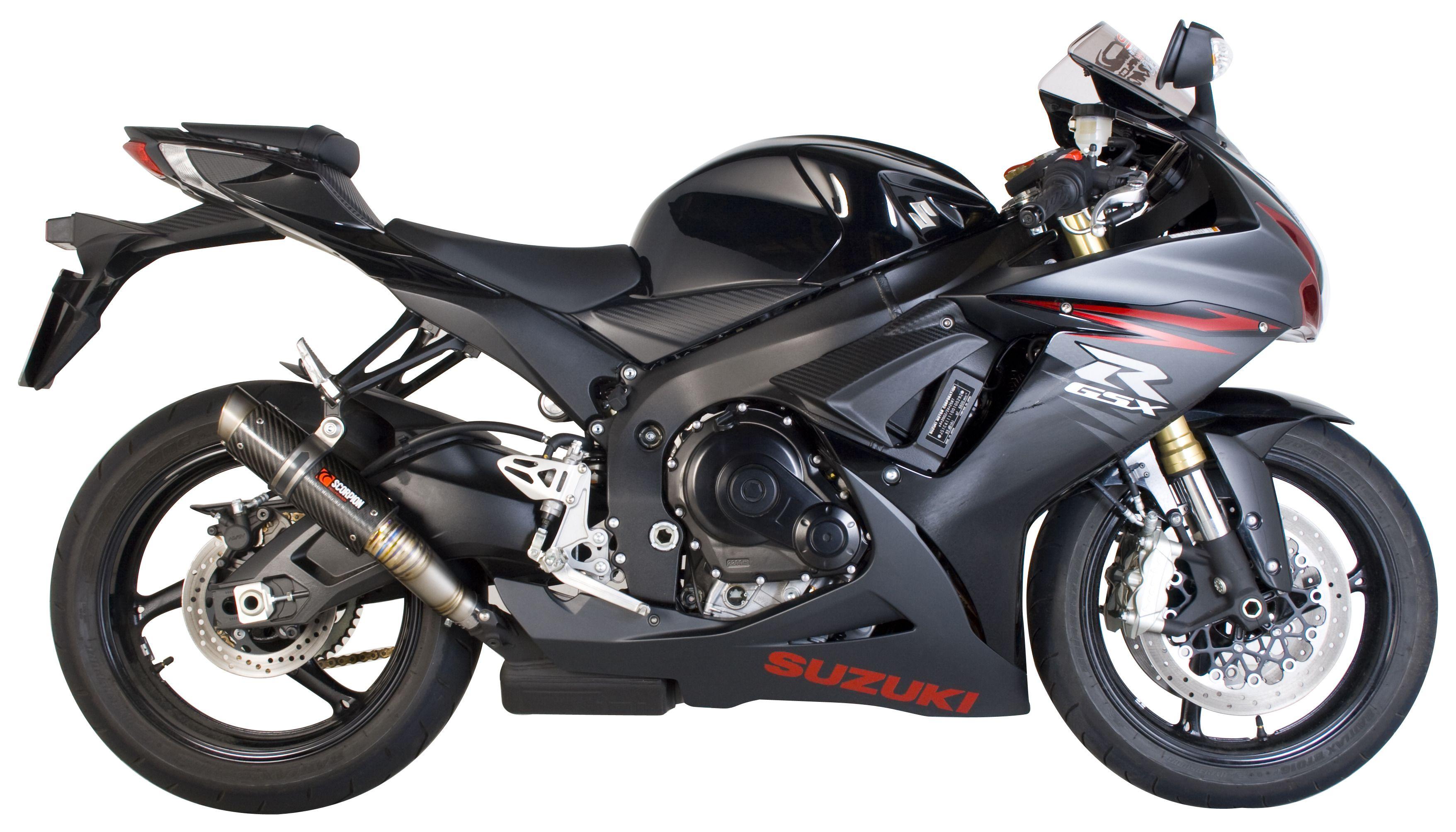 Scorpion Motorcycle Helmets >> Scorpion RP-1 GP Series Slip-On Exhaust Suzuki GSX R600/GSXR 750 2011-2018   10% ($79.90) Off ...