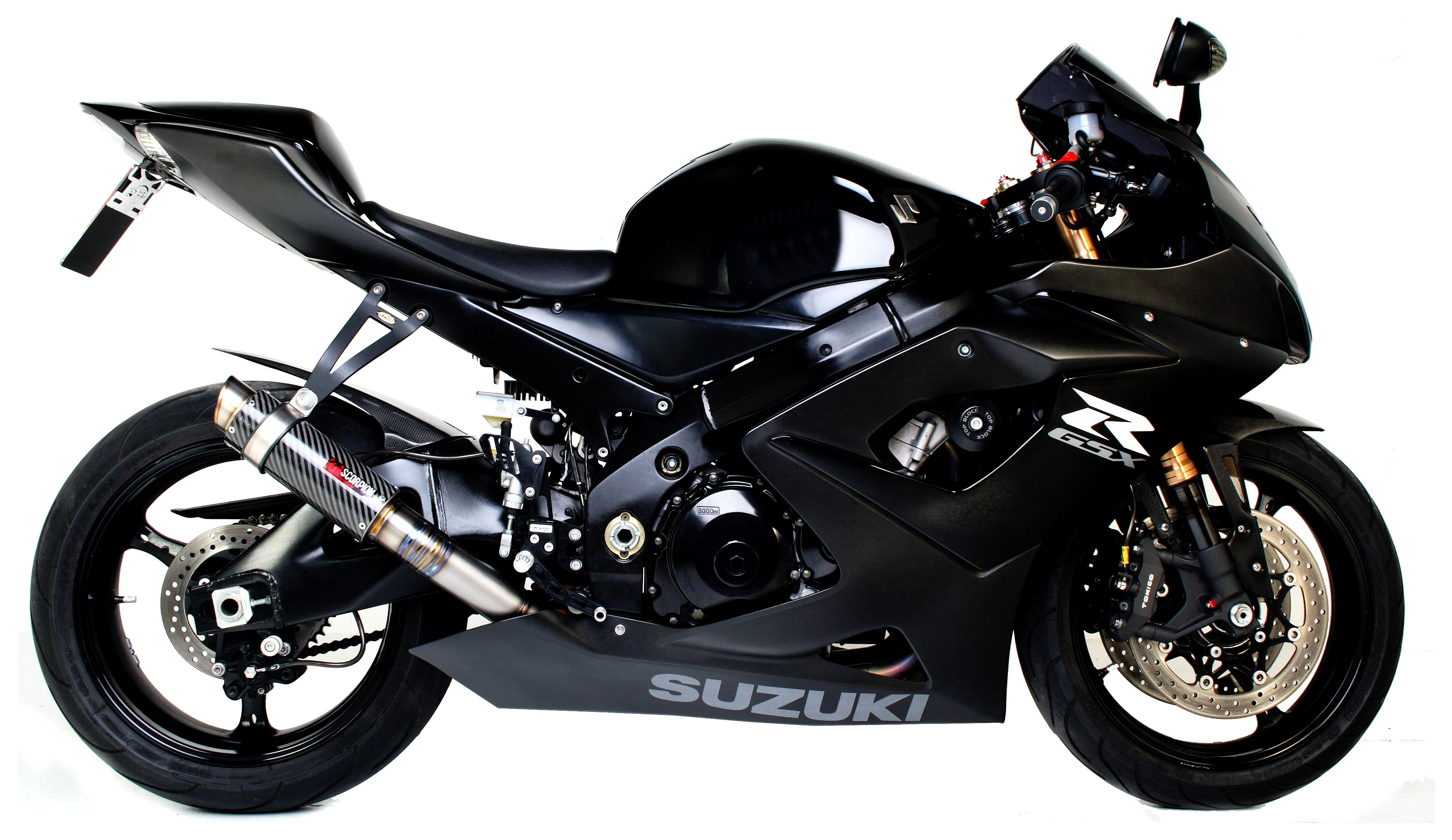 Scorpion RP-1 GP Series Slip-On Exhaust Suzuki GSXR 1000 2005-2006 ...