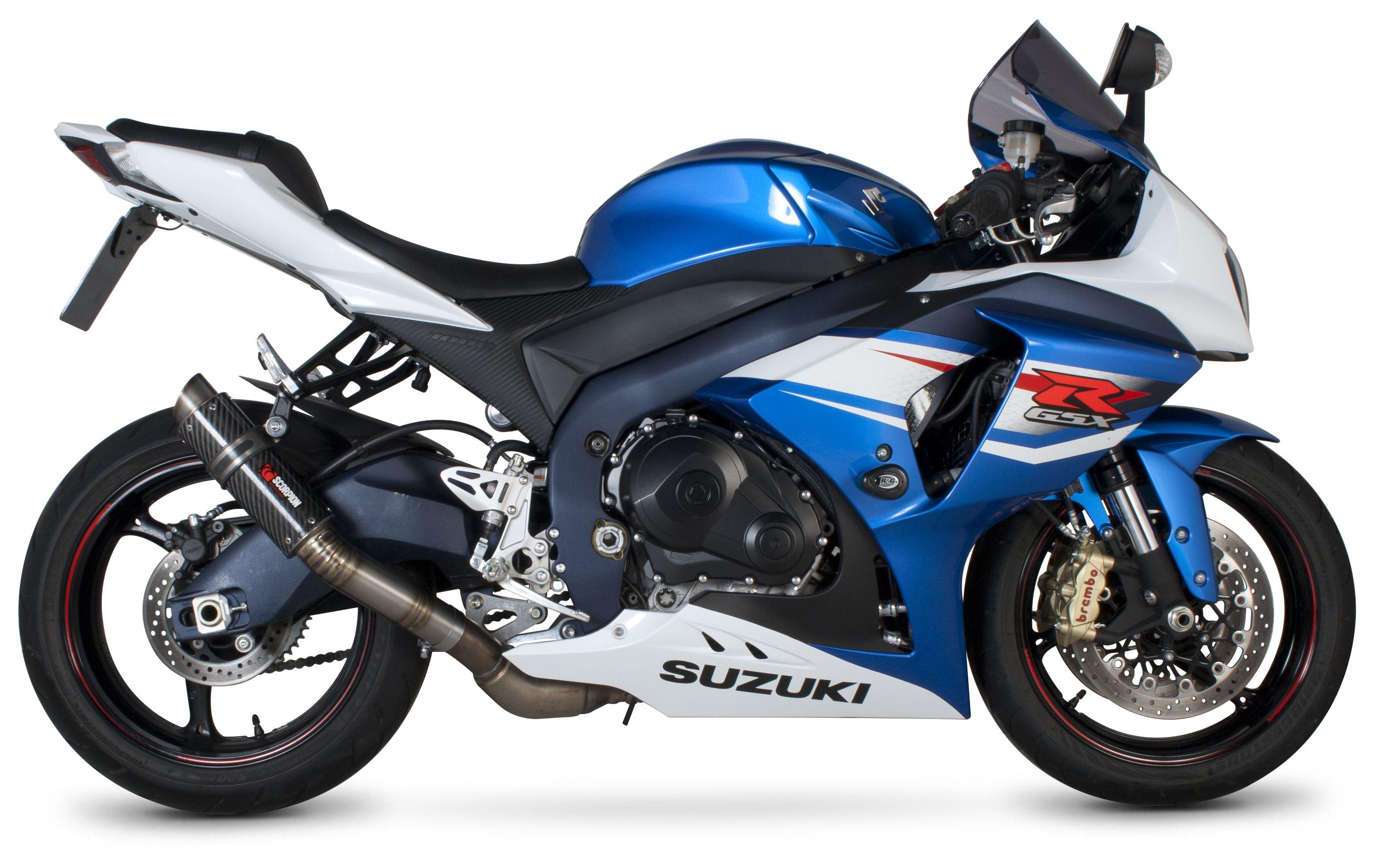 scorpion rp-1 gp series slip-on exhaust suzuki gsxr 1000 2012-2016