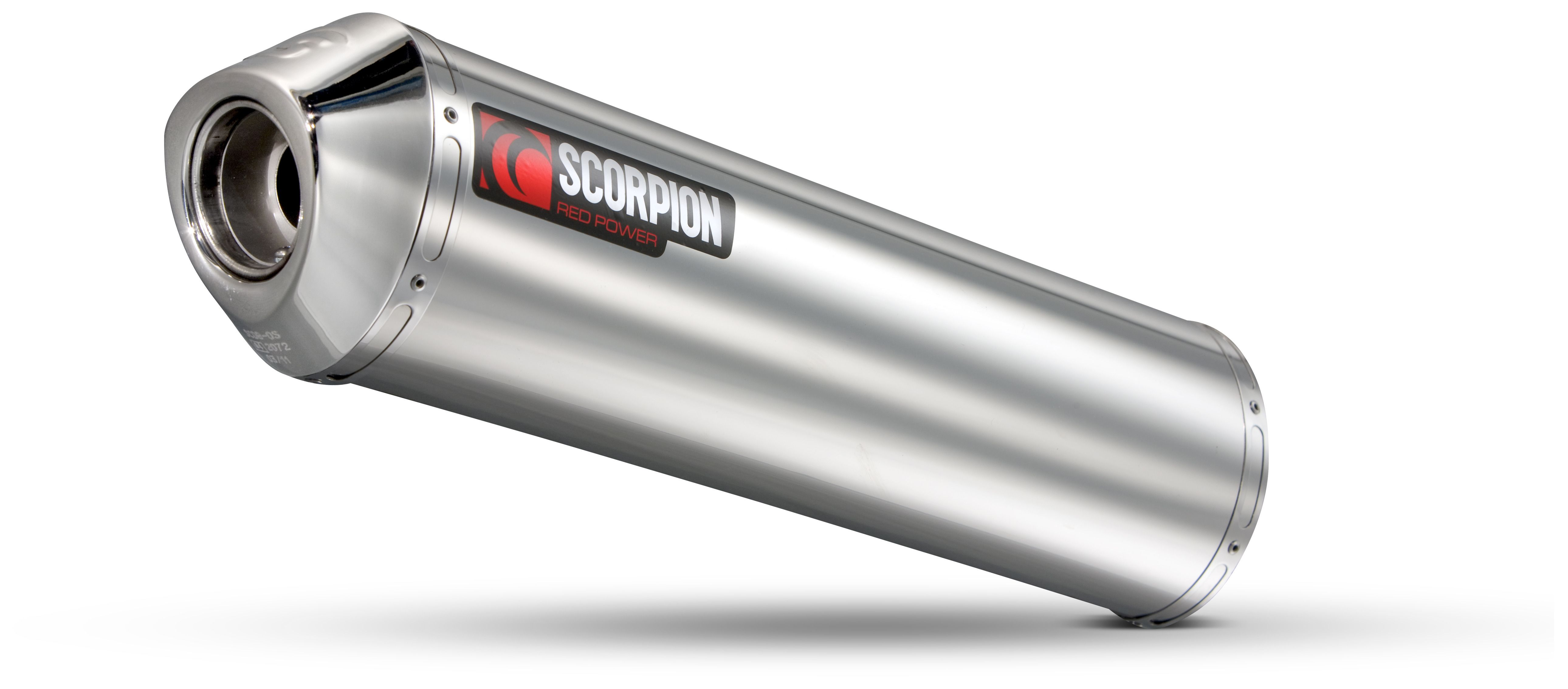 Scorpion Factory Oval Slip On Exhaust Triumph Sprint ST 955 I RS
