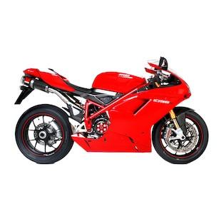 Scorpion Factory Oval Slip-On Exhaustn Ducati 1098 S 2008-2009