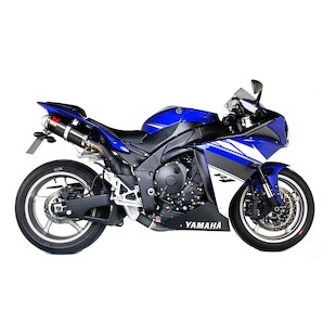 Scorpion Factory Oval Slip-On Exhaust Yamaha R1 2009-2014