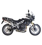 Scorpion Factory Oval Slip-On Exhaust Triumph Tiger 800 / XC 2011-2014