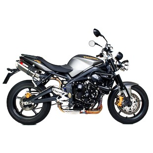 Scorpion Factory Oval Slip-On Exhaust Triumph Street Triple 2007-2011