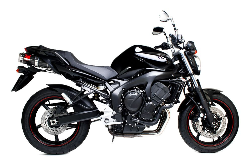 scorpion factory oval slip on exhaust yamaha fz6 2004 2006. Black Bedroom Furniture Sets. Home Design Ideas