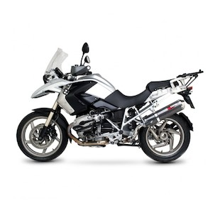 Scorpion Factory Oval Slip-On Exhaust BMW R1200GS 2004-2009