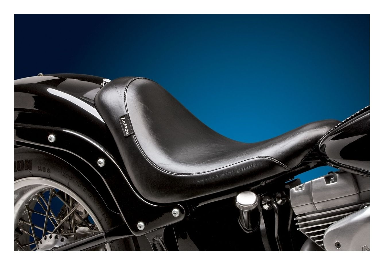 Le pera silhouette solo seat for harley softail 1984 1999 for Garage seat 91