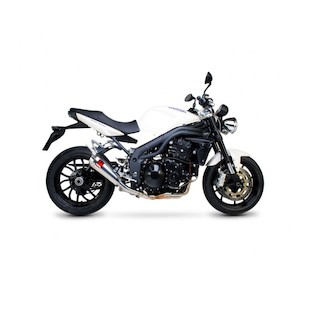 Scorpion Power Cone Slip-On Exhaust Triumph Speed Triple 1050 2005-2007