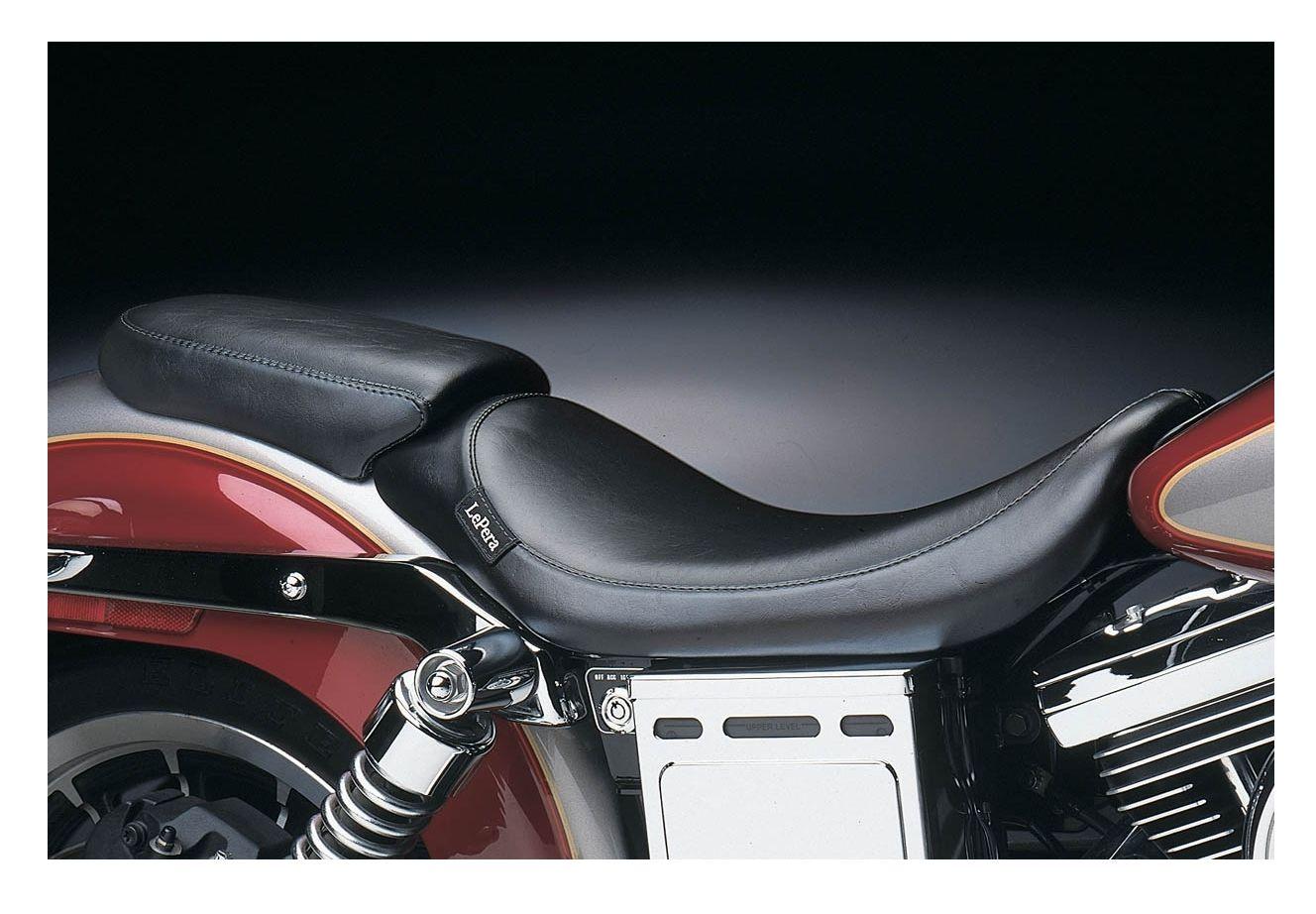 Le Pera Silhouette Solo Seat For Harley Dyna 1996 2003 10 2502 07 Flhtcu Wiring Diagrams Color Off Revzilla
