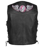 River Road Women's Grateful Dead Steal Your Face Vest