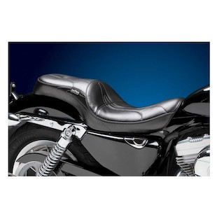 Le Pera Sorrento Seat For Harley Sportster With 3.3 Gallon Tank 2004-2015