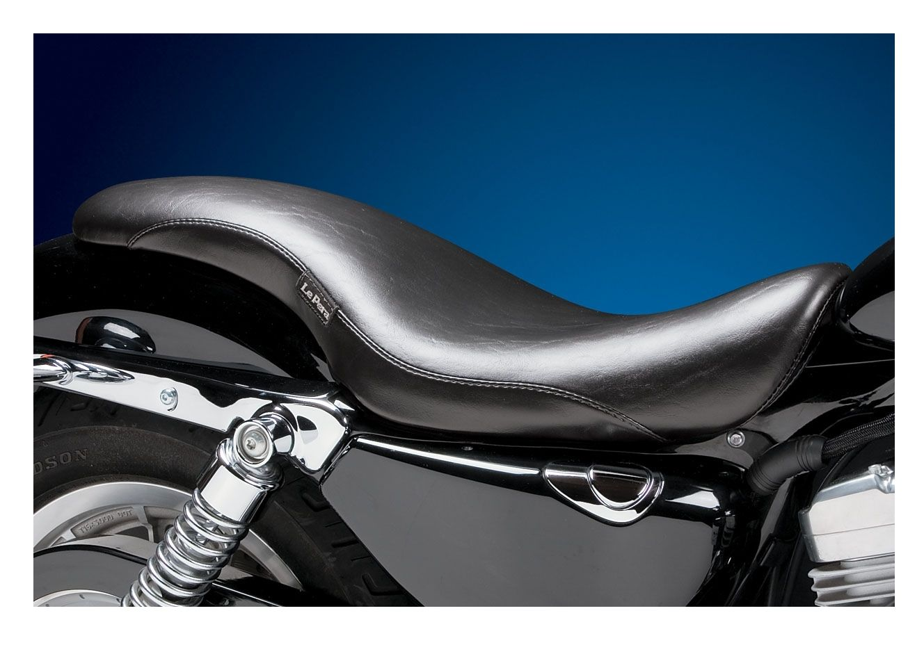 Le Pera King Cobra Seat For Harley Sportster With 3 3 Gallon Tank 2004-2020  | 20% ($71 19) Off!