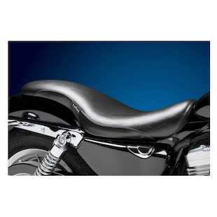 Le Pera King Cobra Seat For Harley Sportster With 4.5 Gallon Tank 2004-2017