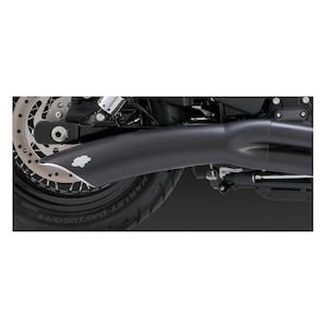 Vance & Hines Big Radius 2-Into-1 Exhaust For Harley Dyna 2012-2017