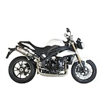 Scorpion Serket Parallel Slip-On Exhaust Triumph Speed Triple 1050 2005-2010