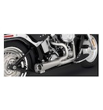 Vance & Hines Competition Series 2-Into-1 Exhaust For Harley Softail 2000-2015