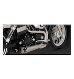 Vance & Hines Competition Series 2-Into-1 Exhaust For Harley Dyna 2006-2016