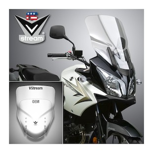 National Cycle VStream Tall Touring Windscreen Suzuki VStrom 650/1000