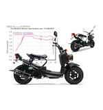 Two Brothers M-2 VALE Exhaust System Honda Ruckus 2002-2014