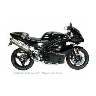 Two Brothers M-5 VALE  Slip-On (high mount) Exhaust Triumph Daytona 955i 2005-2006