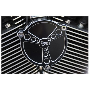 Battistinis Tri-Bar Air Cleaner Cover For Harley