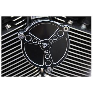Battistini Tri-Bar Air Cleaner Cover For Harley