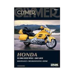 Clymer Manual Honda GL1800 2001-2010