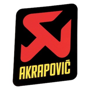 Akrapovic Racing Muffler Sticker