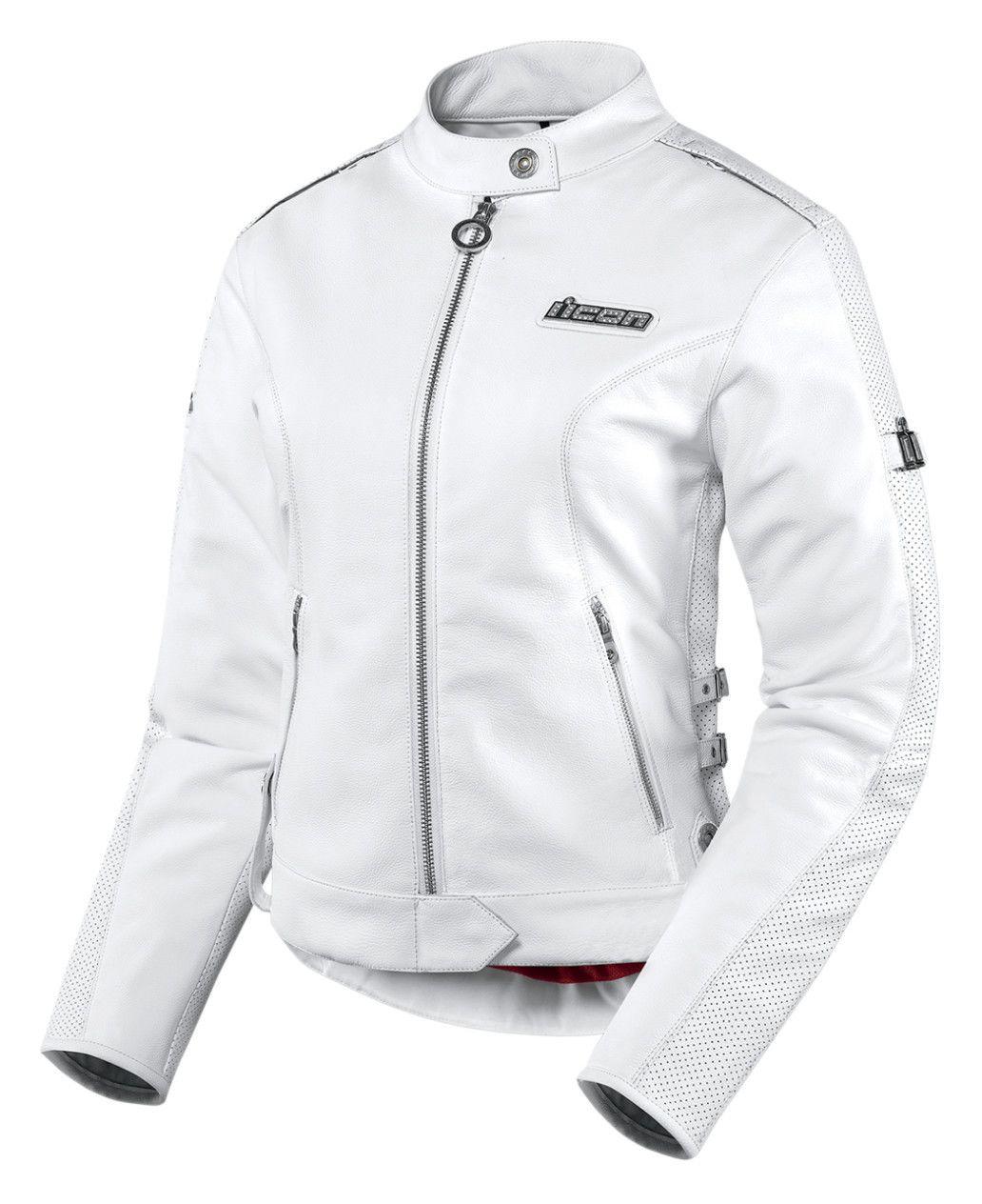 Icon Women S Tuscadero Leather Motorcycle Jacket ...