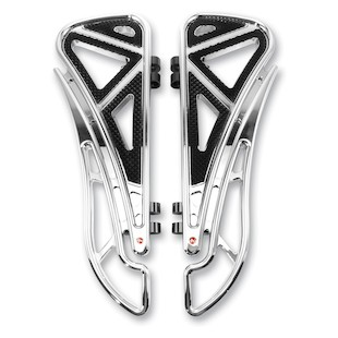 Battistinis Wire Frame Driver Floorboards For Harley Touring / Softail 1980-2018