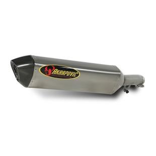 Akrapovic Slip-On Exhaust Suzuki Bandit GSX650F / GSF650 / GSF1250