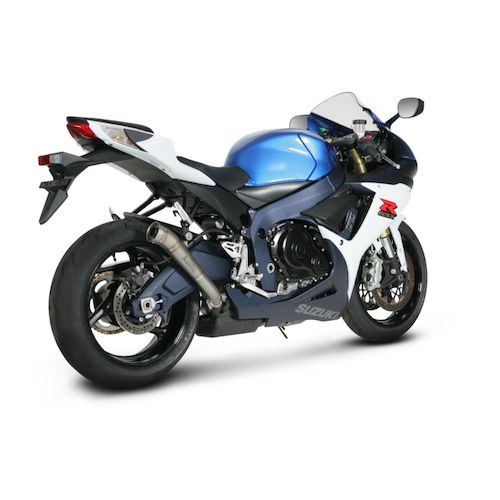 akrapovic megaphone slip on exhaust suzuki gsxr 600 gsxr. Black Bedroom Furniture Sets. Home Design Ideas