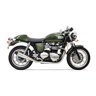 Bassani Slip-On Exhaust For Triumph Thruxton 2001-2013