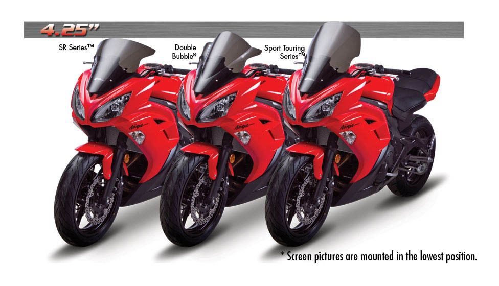 Zero Gravity Sport Touring Windscreen Kawasaki Ninja 650 2012 2016