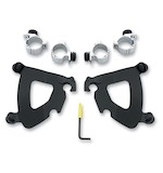 Memphis Shades Gauntlet Fairing Trigger Lock Mount Kit For Harley Sportster Custom 96-10