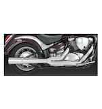 Vance & Hines Pro Pipe Chrome Exhaust System For Metric Cruisers