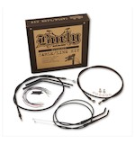 Burly Handlebar Cable Installation Kit For Harley Softail FL 2000-2006