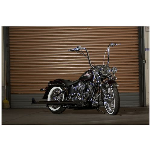 Burly Handlebar Cable Installation Kit For Harley Softail