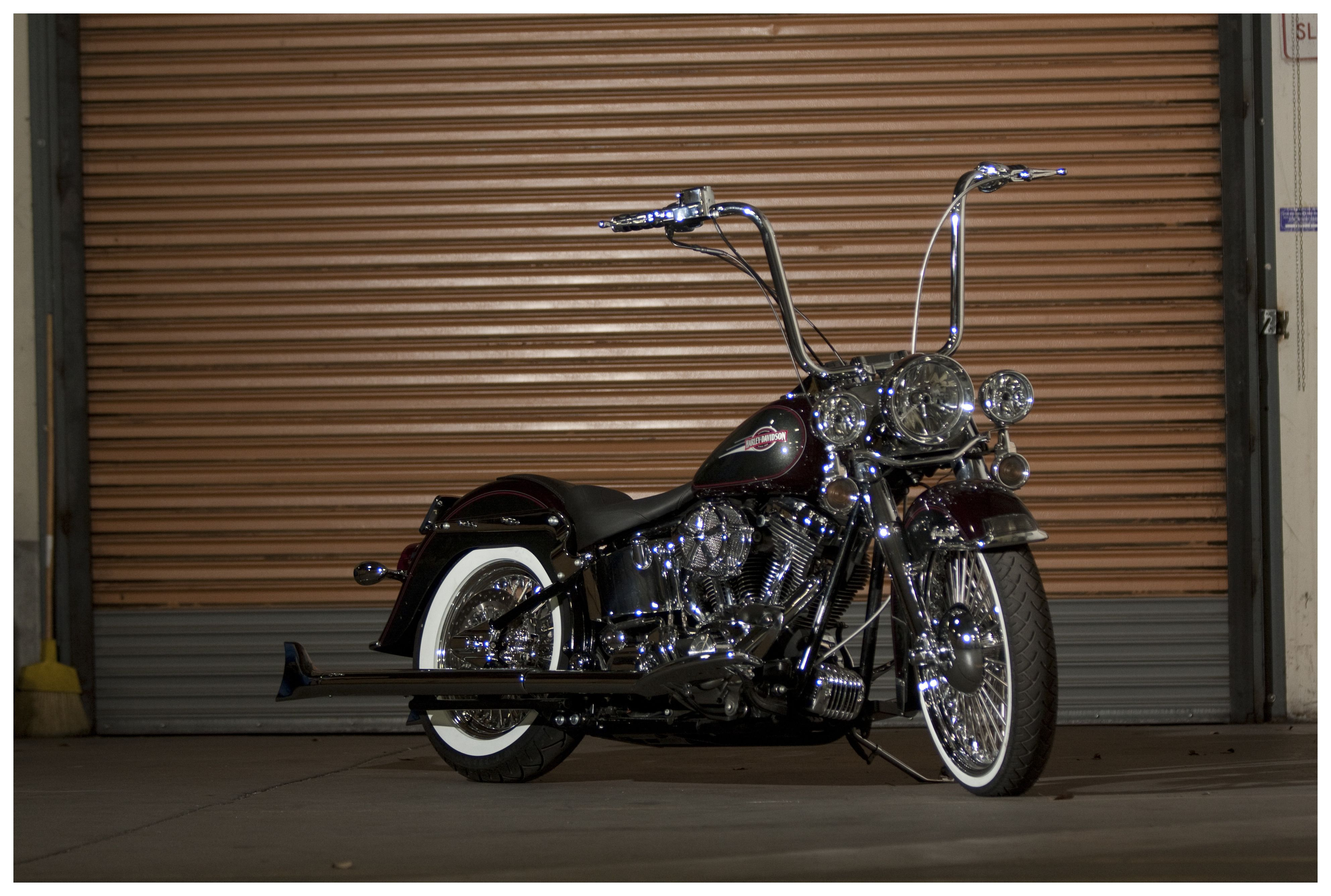Burly Handlebar Cable Installation Kit For Harley Softail Fx 2007 1986 Heritage Wiring Diagram 2010 10 1999 Off Revzilla