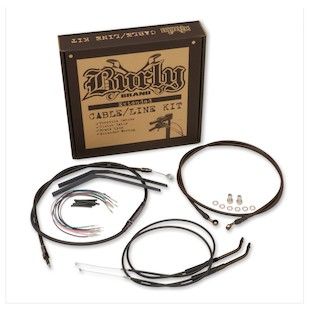 Burly Handlebar Cable Installation Kit For Harley Dyna 1998-2005
