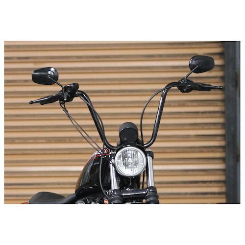 Burly Handlebar Cable Installation Kit For Harley