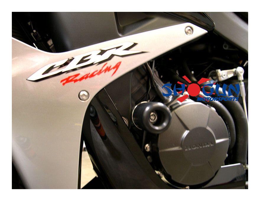 No Cut Frame Slider Protector For 2006 2007 2008 Suzuki Gsx-R Gsxr 600 750 BLACK