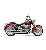 Bassani Firepower Mufflers For Harley Softail Nostalgia and Cross Bones 2007-2014