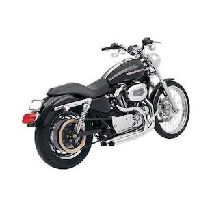 Bassani Pro-Street Exhaust System Heat Shields For Harley Sportster