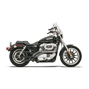 Bassani Radial Sweepers Exhaust With Heat Shields For Harley Sportster 2004-2013