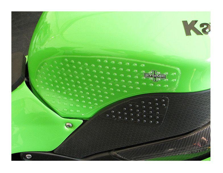 R/&G Tank Traction Grip Kit for Kawasaki ZX-6R 2007-2008 CLEAR