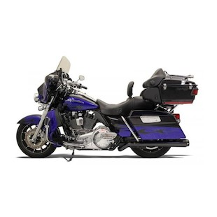 Bassani Road Rage Mega-Power Pseudo Left-Side Muffler For Harley Touring 2009-2016