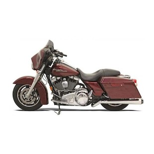 Bassani Road Rage Mega-Power Pseudo Left-Side Muffler For Harley Touring
