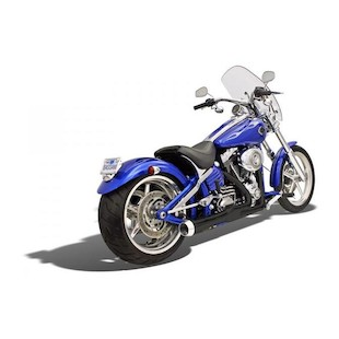 Bassani Road Rage 2-into-1 Exhaust System For Harley Softail 2008-2011